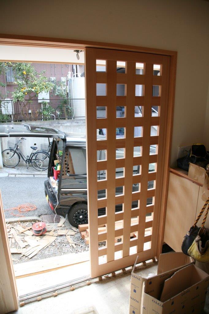 2014-03-07 玄関戸