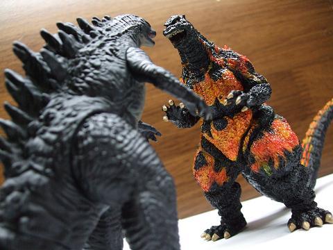 「ゴジラ」の食玩~ゴジラコレクション「ゴジラ2014」(5)