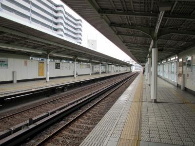 朝潮橋駅ホーム