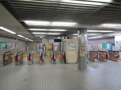 住之江公園駅改札