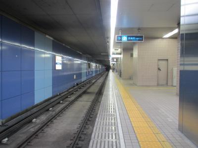 住之江公園駅四つ橋線ホーム