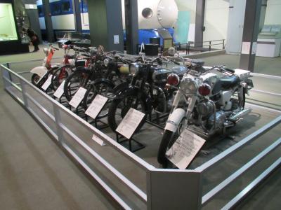 交通博物館バイク