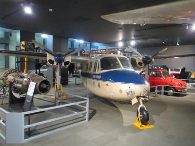 交通博物館飛行機