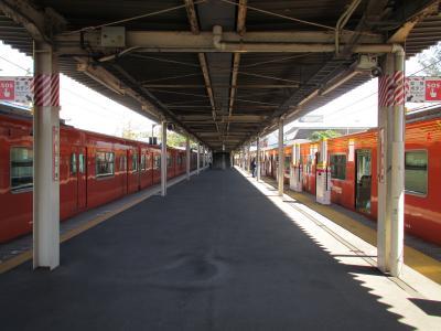 桜島駅ホーム1