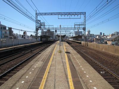 今里駅ホーム構造