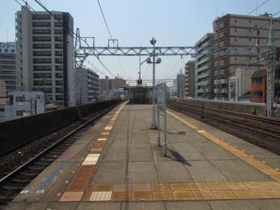 今宮戎駅ホーム