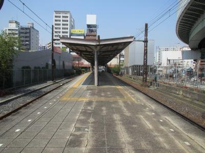 汐見橋駅ホーム
