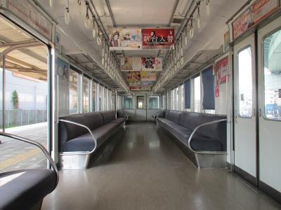 汐見橋線車内