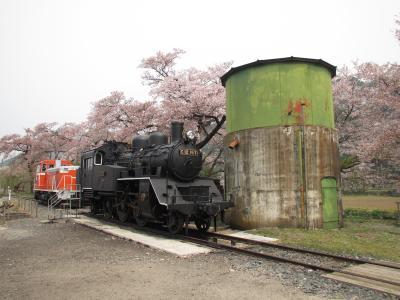 若桜駅給水塔