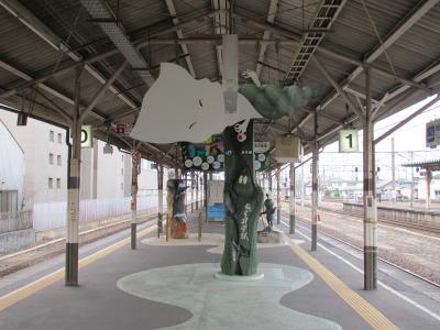 米子駅ホーム