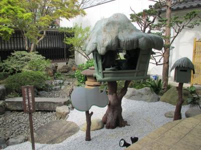 水木しげる記念館中庭