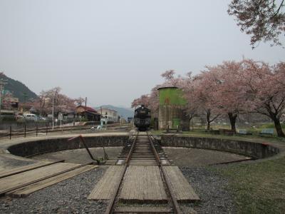 若桜駅の転車台2