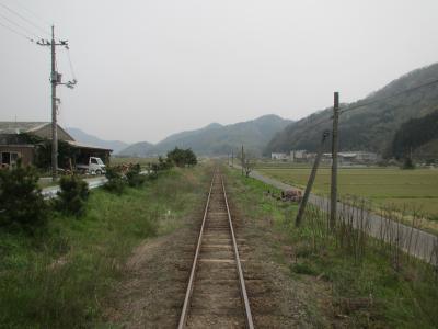 若桜鉄道の線路