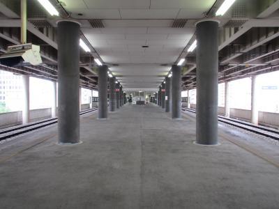 布施駅大阪線ホーム