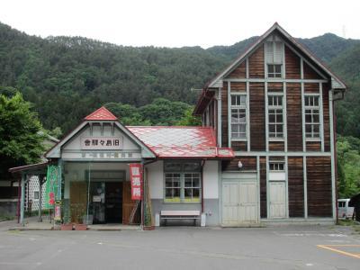 旧新島々駅舎