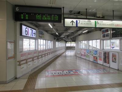 松本駅連絡通路