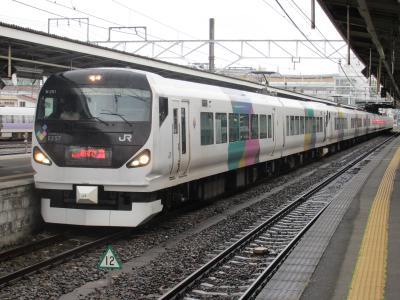 松本駅あずさ2