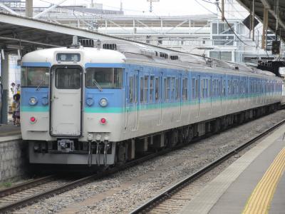 松本駅115系2