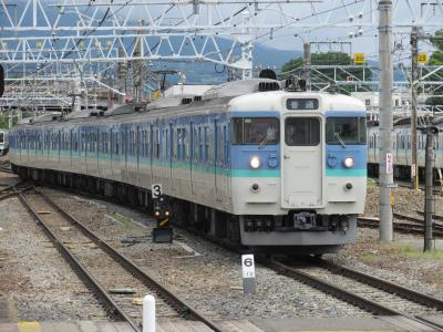 松本駅115系1