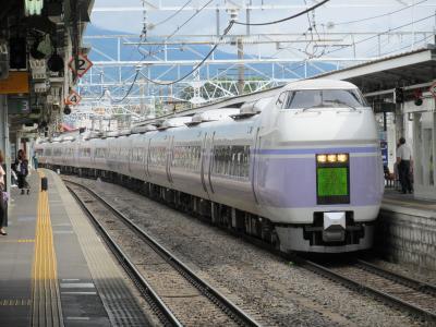 松本駅スーパーあずさ2