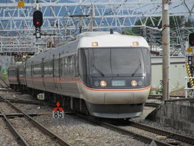 松本駅しなの1