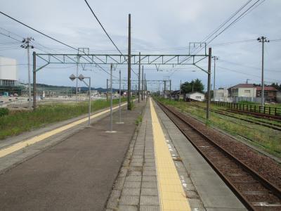 脇野田駅ホーム