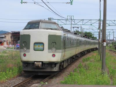 妙高号脇野田駅2