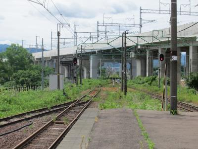 脇野田駅と北陸新幹線
