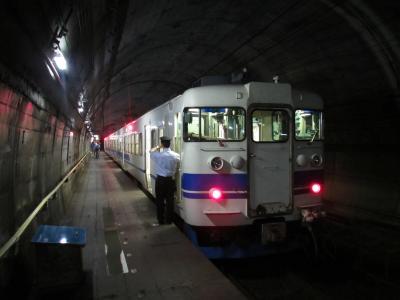 筒石駅413系