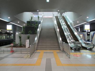 関西空港駅南海線階段