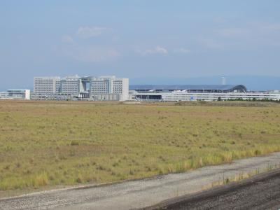 関空第1ターミナル遠望