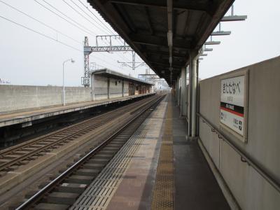 北田辺駅ホーム