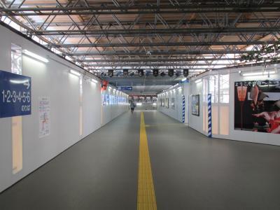 富山駅仮コンコース2