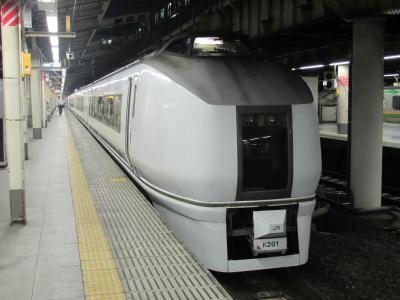 上野駅フレッシュひたち1