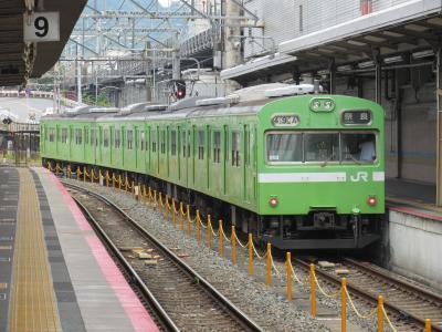 奈良線103系ウグイス2