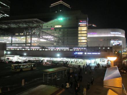 梅田駅夜景