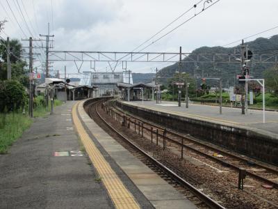 上郡駅ホーム1