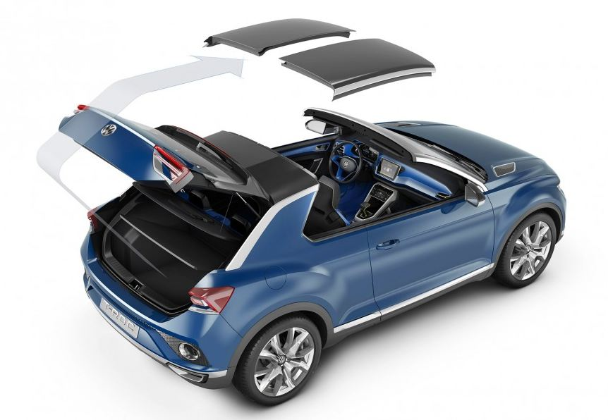 VW T-ROC open