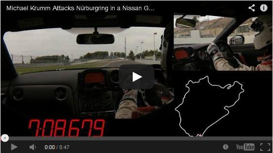 GT-R fastest lap