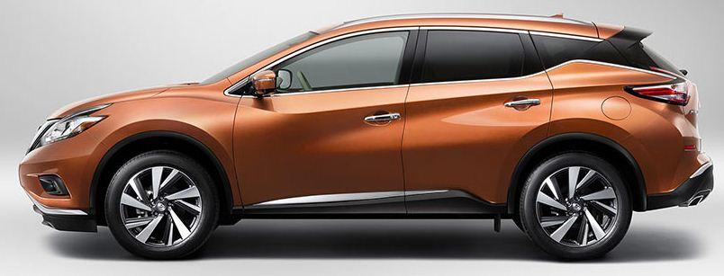 日産 新型ムラーノ サイド2