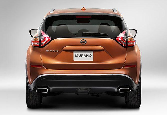 日産 新型ムラーノ リア2