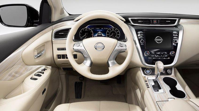 日産 新型ムラーノ インテリア3