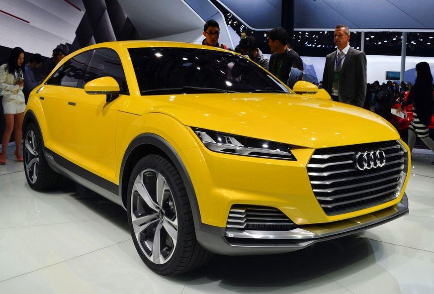 AUDI TTオフロード コンセプト