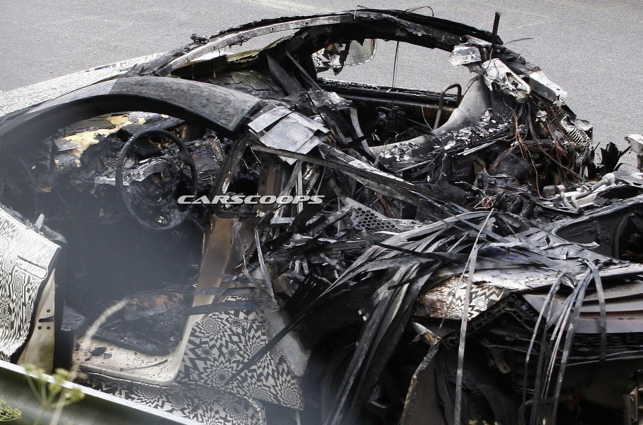 honda NSX burned4