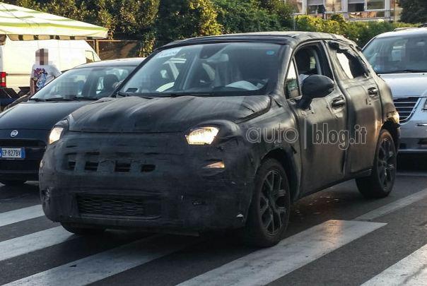 FIAT 500X spy2