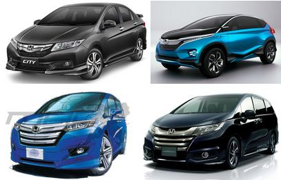 ホンダ新型車2014