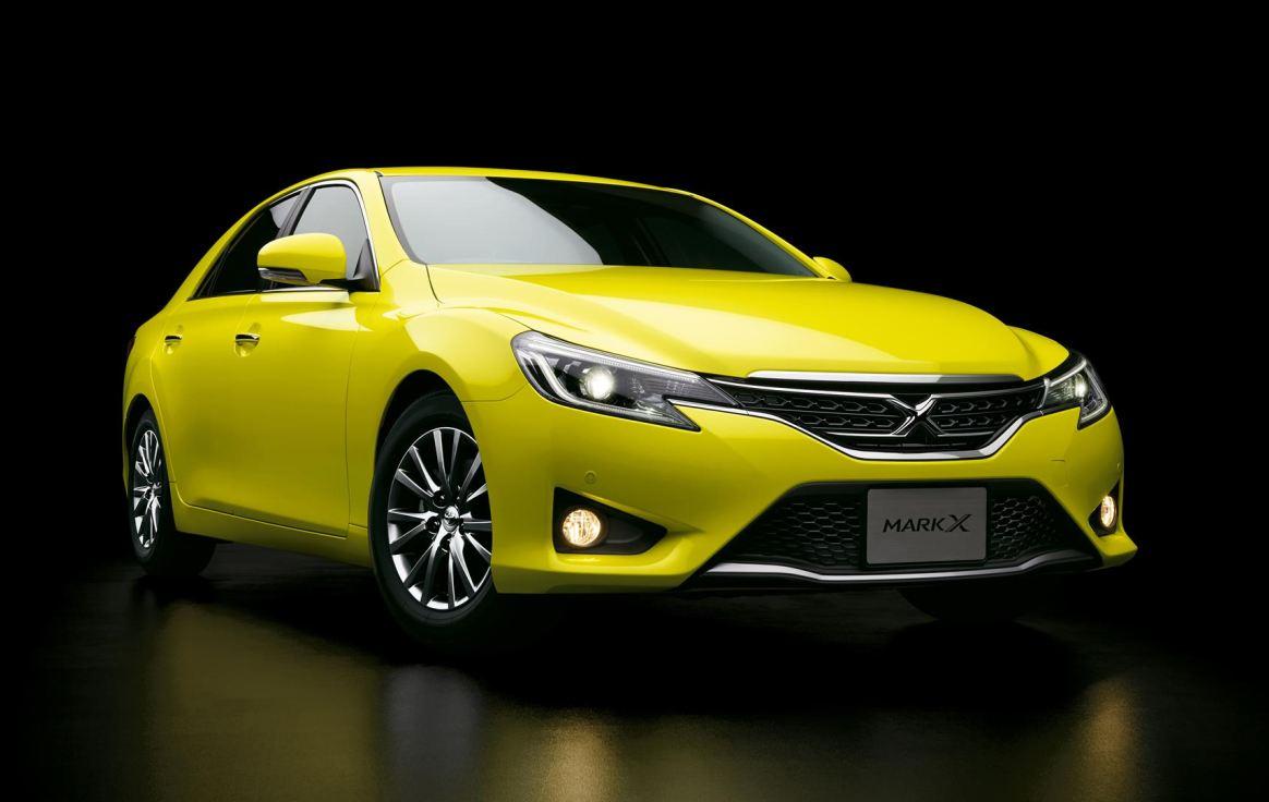 マークX yellow2