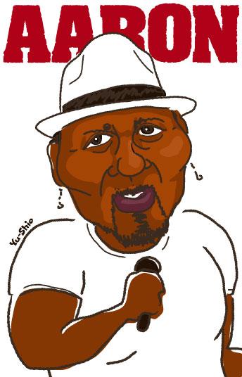 Aaron Neville caricature