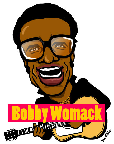Bobby Womack caricature