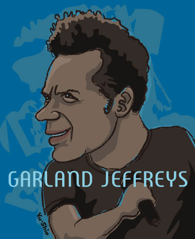 Garland Jeffreys caricature